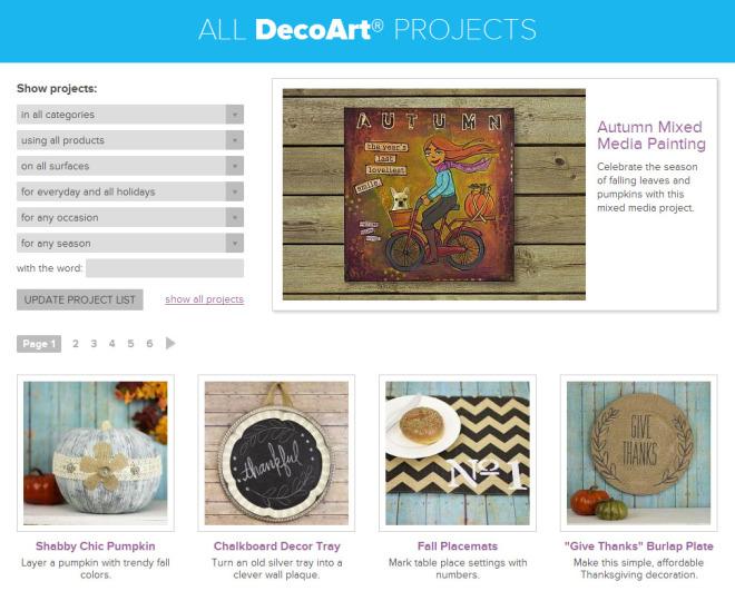 Proyectos paso a paso con productos Decoart y Americana
